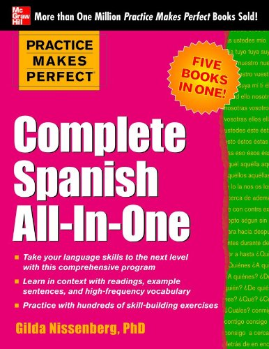 Complete Spanish All-in-One   2013 edition cover