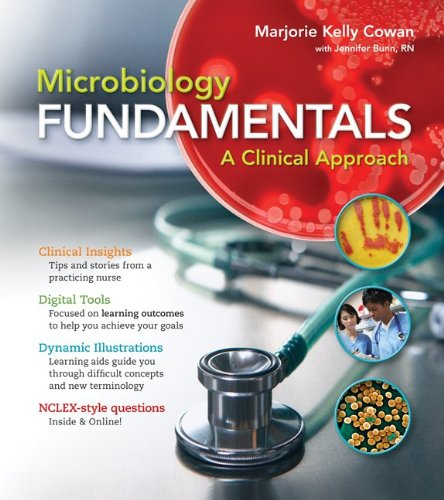 Microbiology Fundamentals A Clinical Approach  2013 9780073402352 Front Cover