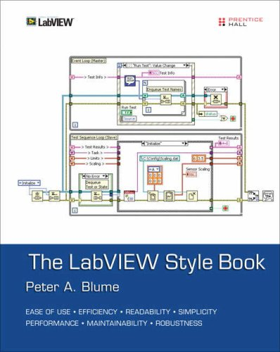 LabVIEW Style Book   2007 9780131458352 Front Cover