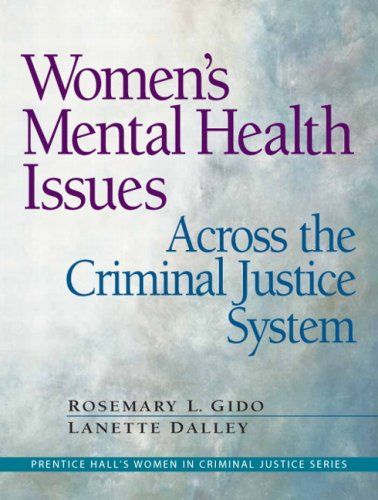 Women's Mental Health Issues Across the Criminal Justice System   2009 edition cover