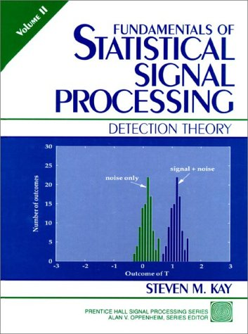 Fundamentals of Statistical Signal Processing Detection Theory  1998 edition cover