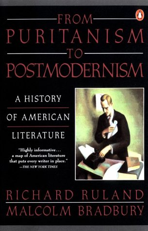 From Puritanism to Postmodernism A History of American Literature  1992 (Reprint) edition cover