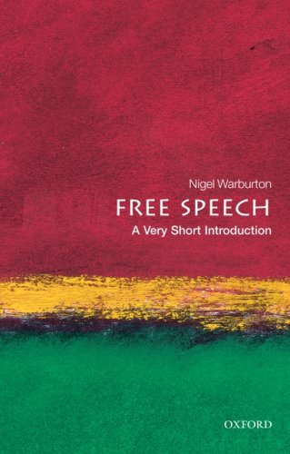 Free Speech - A Very Short Introduction   2009 edition cover