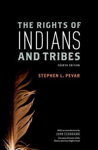 Rights of Indians and Tribes  4th 2012 edition cover