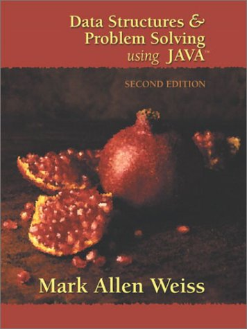 Data Structures and Problem Solving Using Java  2nd 2002 edition cover