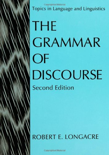 Grammar of Discourse  2nd 1996 (Revised) 9780306452352 Front Cover