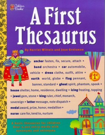 First Thesaurus  N/A 9780307158352 Front Cover