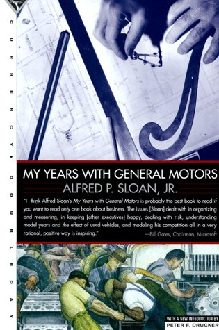 My Years with General Motors   1990 (Reprint) edition cover