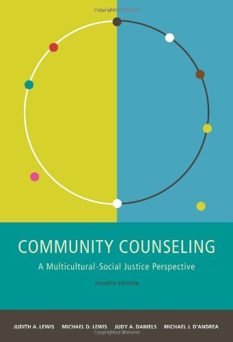 Community Counseling A Multicultural-Social Justice Perspective 4th 2011 edition cover