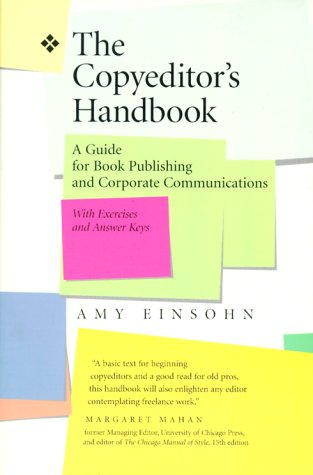 Copyeditor's Handbook A Guide for Book Publishing and Corporate Communications  2000 edition cover