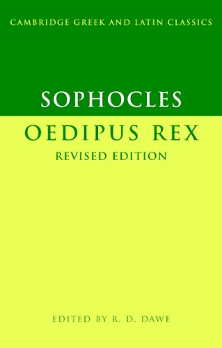 Sophocles: Oedipus Rex  2nd 2006 (Revised) edition cover