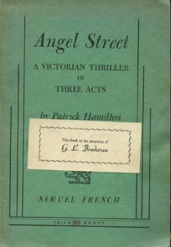 Angel Street:  1st 1966 edition cover
