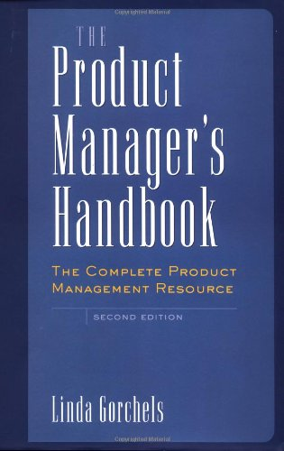 Product Manager's Handbook The Complete Product Management Resource 2nd 2000 edition cover