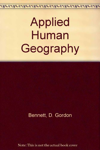 Applied Human Geography  7th (Revised) 9780757564352 Front Cover