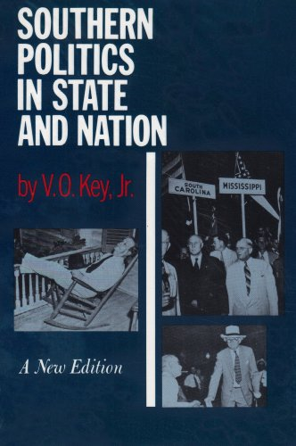 Southern Politics in State and Nation  N/A edition cover