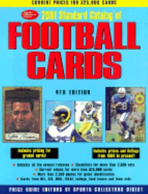 Standard Catalogue of Football Cards 2001 4th 2000 (Revised) 9780873419352 Front Cover
