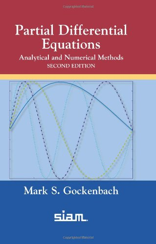 Partial Differential Equations Analytical and Numerical Methods 2nd 2010 (Revised) 9780898719352 Front Cover