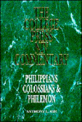 College Press NIV Commentary Philippians, Colossians, and Philemon N/A edition cover