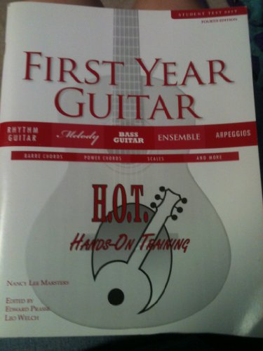 HANDS-ON TRAINING:FIRST-YEAR G N/A edition cover