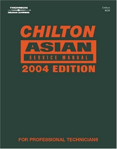 Asian Service Manual 2004   2004 (Annual) 9781401842352 Front Cover