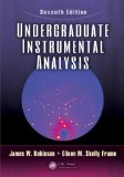 Undergraduate Instrumental Analysis  7th 2014 (Revised) edition cover