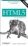 HTML5 Pocket Reference  5th 2013 edition cover
