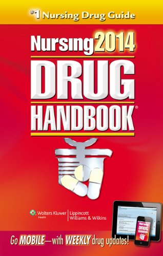 Lippincott's Nursing Drug Handbook 2014:   2013 9781451186352 Front Cover