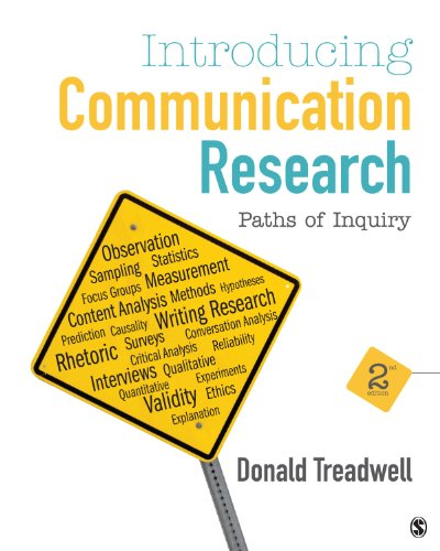 Introducing Communication Research Paths of Inquiry 2nd 2014 edition cover