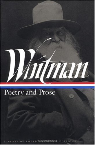 Whitman Poetry and Prose N/A edition cover