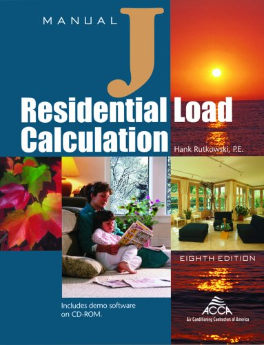 RESIDENTIAL LOAD CALCULATION 8th 2006 edition cover