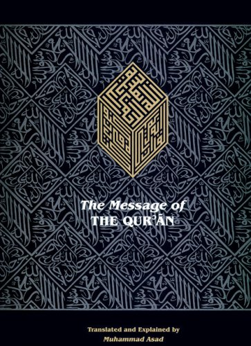 Message of the Qur'an   2008 edition cover