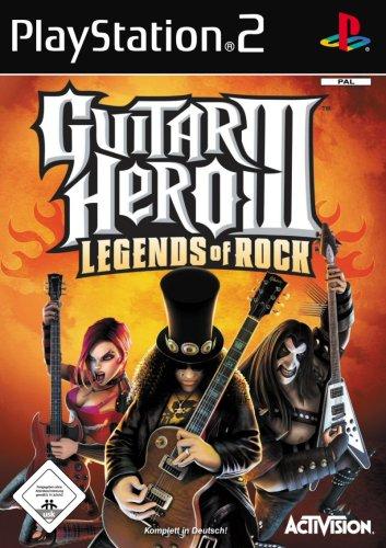 Guitar Hero III: Legends of Rock PlayStation2 artwork
