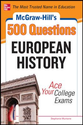 European History Ace Your College Exams  2012 edition cover