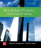 Real Estate Finance & Investments  15th 2016 9780073377353 Front Cover