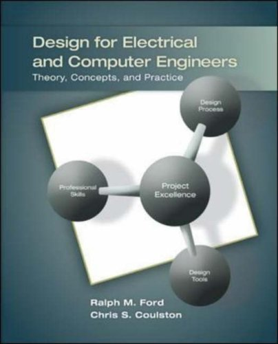 Design for Electrical and Computer Engineers Theory, Concepts, and Practice  2008 edition cover