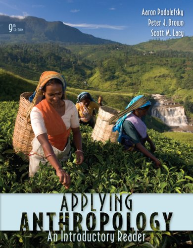 Applying Anthropology An Introductory Reader 9th 2009 edition cover