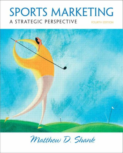 Sports Marketing A Strategic Perspective 4th 2009 edition cover