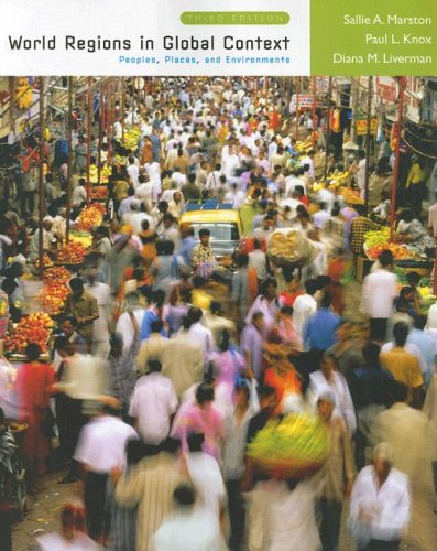 World Regions in Global Context Peoples, Places, and Environments 3rd 2008 edition cover