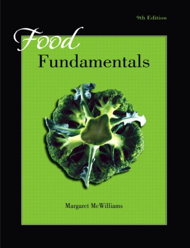 Food Fundamentals  9th 2009 edition cover