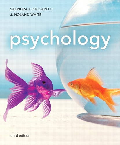 Psychology  3rd 2012 (Revised) edition cover