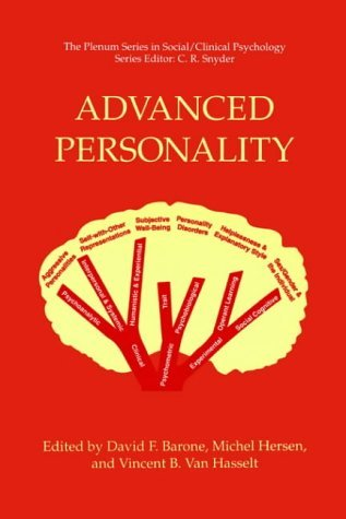 Advanced Personality   1998 9780306484353 Front Cover
