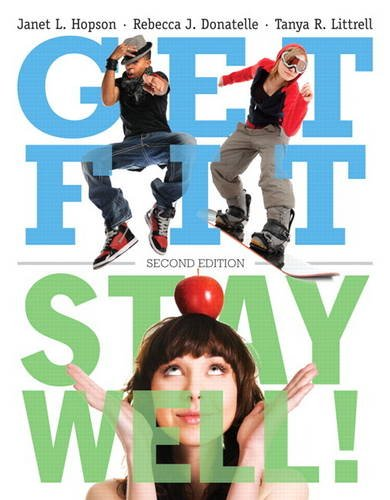 Get Fit, Stay Well!  2nd 2013 edition cover