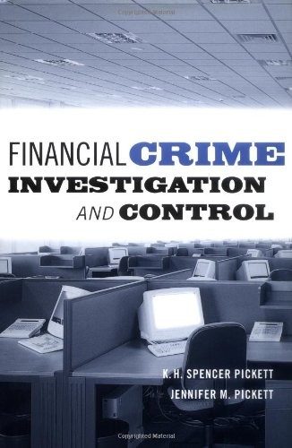 Financial Crime Investigation and Control   2002 9780471203353 Front Cover