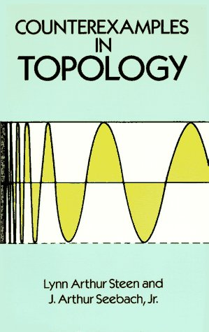 Counterexamples in Topology  2nd 1995 (Unabridged) edition cover