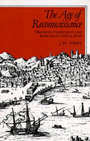 Age of Reconnaissance Discovery, Exploration, and Settlement, 1450-1650  1981 edition cover