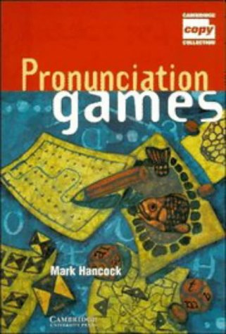 Pronunciation Games   1995 9780521467353 Front Cover