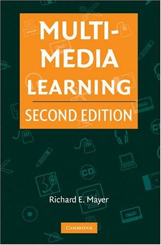 Multimedia Learning  2nd 2009 edition cover