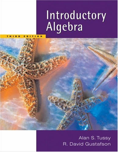 Introductory Algebra  3rd 2006 (Revised) 9780534407353 Front Cover