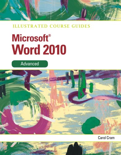 Microsoft� Word 2010, Advanced   2012 9780538748353 Front Cover