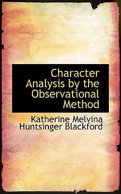 Character Analysis by the Observational Method:   2008 edition cover